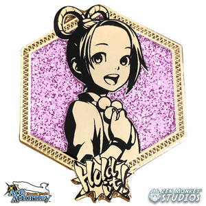 Golden Pearl Fey: 1st Edition Ace Attorney Pin