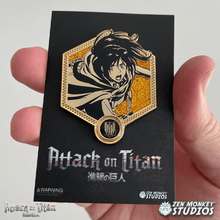 Load image into Gallery viewer, Golden Sasha - 1st Edition Attack on Titan Collectible Enamel Pin