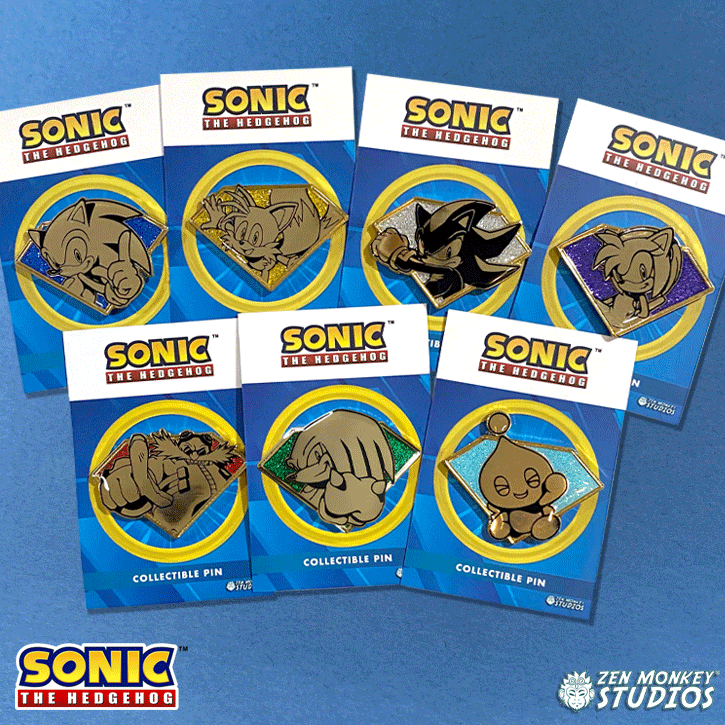 Golden Chaos Emeralds: Sonic The Hedgehog Combo