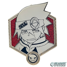 Load image into Gallery viewer, Golden Soul Evans - Soul Eater Collectible Pin