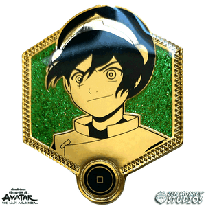 Golden Toph - Avatar The Last Airbender Pin