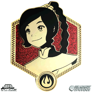 Golden Ty Lee - Avatar The Last Airbender Pin