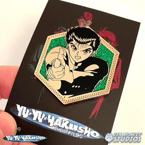 Golden Yusuke - Yu Yu Haksuho Collectible Enamel Pin