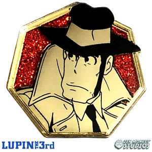 Zenigata - Golden Series: Lupin the Third Pin