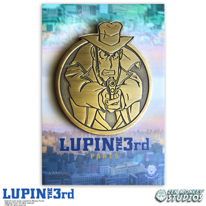 Golden Zenigata - Lupin The 3rd Limited Edition Pin