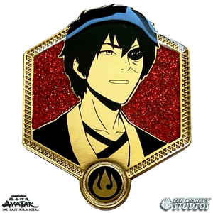Golden Zuko - Avatar The Last Airbender Pin