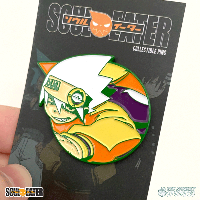 Hallows' Soul Evans - Soul Eater Collectible Pins