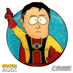 Captain Hindsight - South Park Collectible Enamel Pin