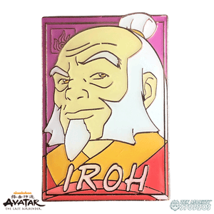 Pastel Iroh - Avatar: The Last Airbender Pin
