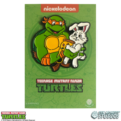 Jelly Bean Pizza with The Easter Bunny - TMNT Pin