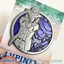Load image into Gallery viewer, Jigen - Portrait Series (Translucent Pin): Lupin the Third Pin