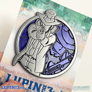 Jigen - Portrait Series (Translucent Pin): Lupin the Third Pin