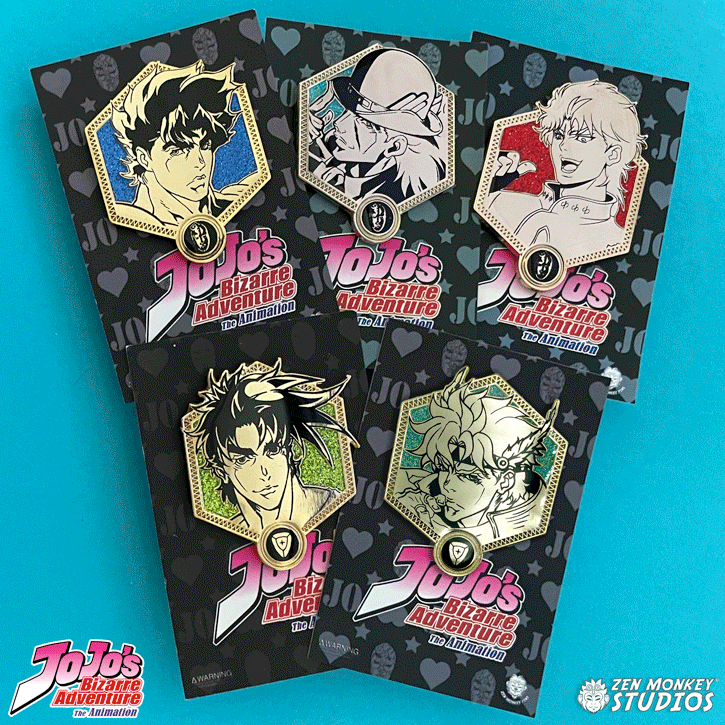 Golden Jojo Bundle: Part 1 & 2