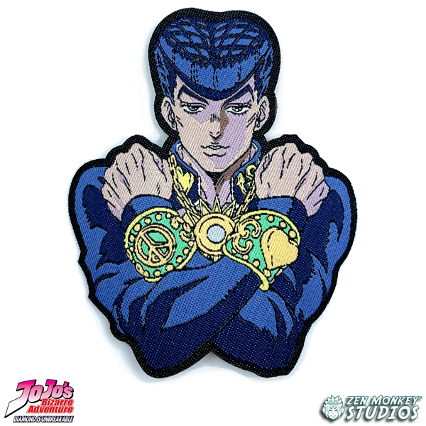Arms Crossed Josuke - JoJo's Bizarre Adventure Iron On Patch