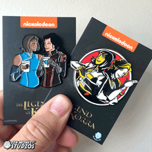Load image into Gallery viewer, Date Night: Korrasami Pin Combo