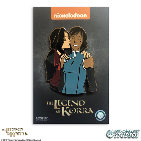 Korrasami's Kiss - Limited Edition Korra Pin