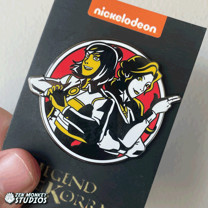 Stay Noir: Korrasami Noir Limited Edition Pin