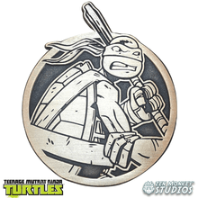 Load image into Gallery viewer, Limited Edition Emblem: Donatello - TMNT Enamel Pin