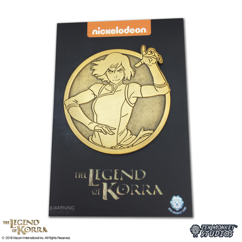 Battle Ready Korra - Limited Edition Pin