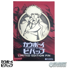 Load image into Gallery viewer, Limited Edition Emblem: Spike Spiegel - Cowboy Bebop Enamel Pin