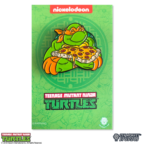 I Love Pizza, Dude! - TMNT Pin