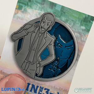 Lupin - Portrait Series (Translucent Pin): Lupin the Third Pin