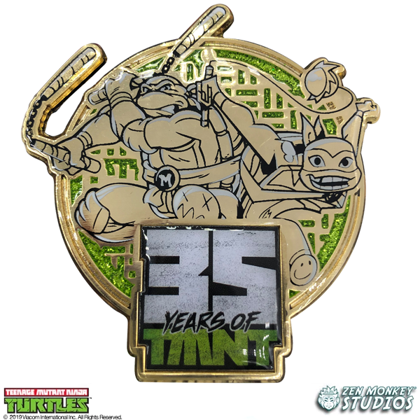 Old Meets New - Michelangelo: 35 Years of TMNT