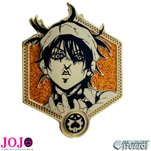 Load image into Gallery viewer, Golden Narancia Ghirga - JoJo's Bizarre Adventure Pin