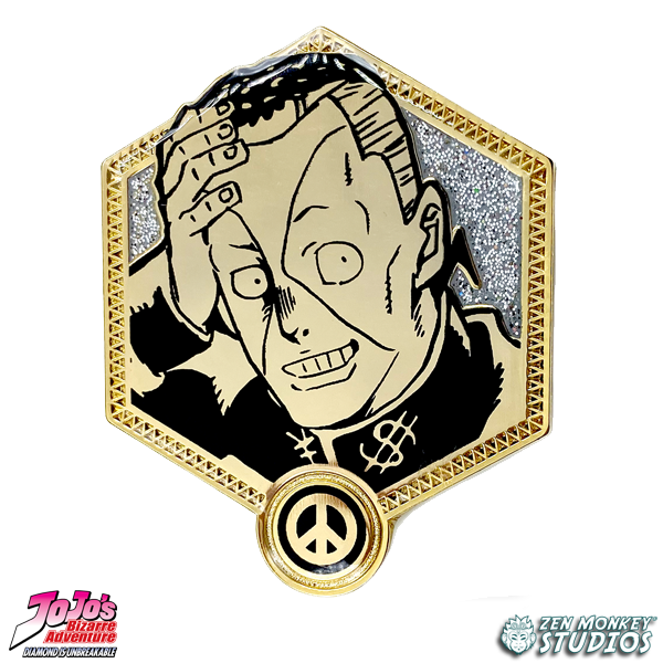 Golden Okuyasu - JoJo's Bizarre Adventure Pin