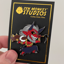 Load image into Gallery viewer, Japanese folklore Oni: 1st Edition Collectible Enamel Pin