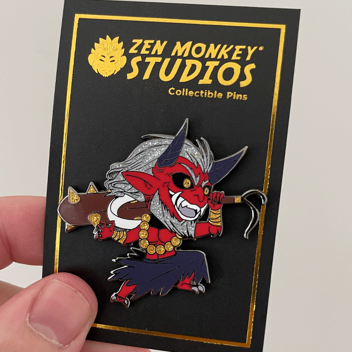 Japanese folklore Oni: 1st Edition Collectible Enamel Pin