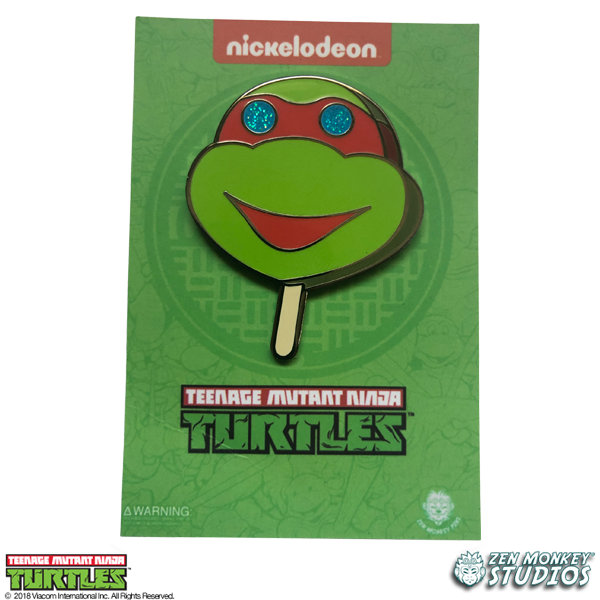 Popsicle Turtle - TMNT Pin
