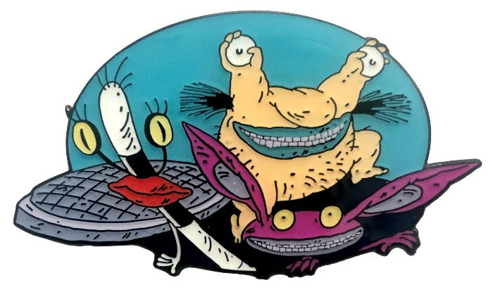 Ickis, Krumm, and Oblina - Ahh! Real Monsters Pin