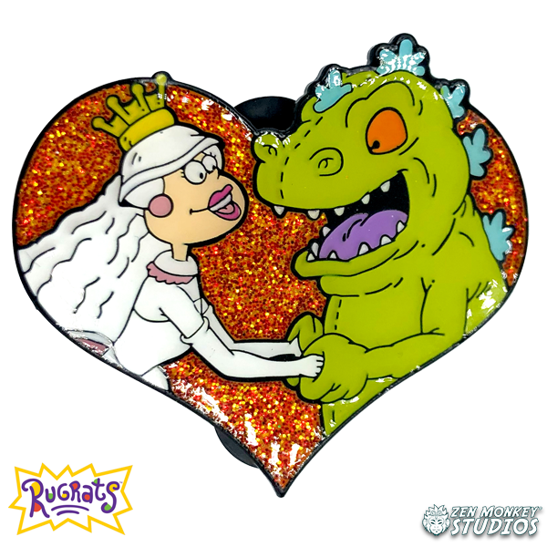 Reptar On Ice! - Rugrats Pin