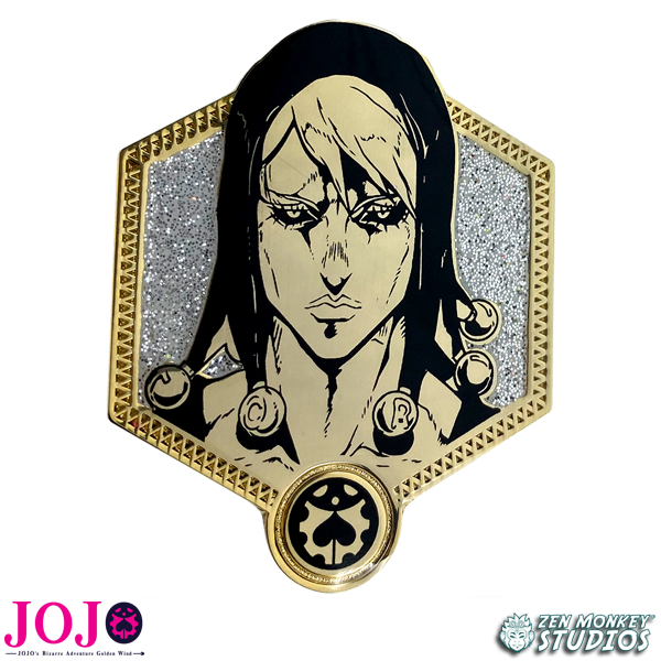 Golden Risotto Nero - JoJo's Bizarre Adventure Pin