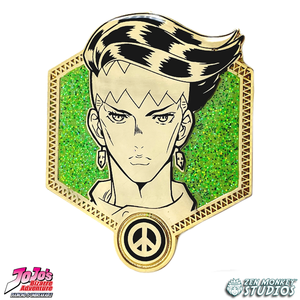 Golden Rohan - JoJo's Bizarre Adventure Pin