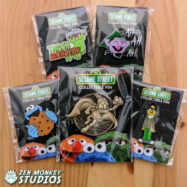 Sunny Day At Home Sale:  Sesame Street Pin Combo! (5 Available)