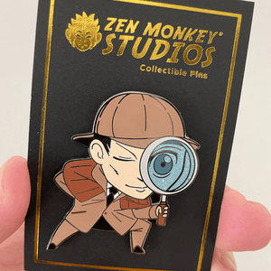 Detective Sherlock: 1st Edition Collectible Enamel Pin