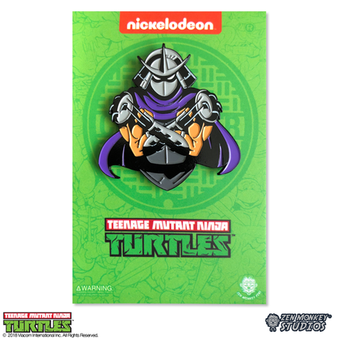 Shadowed Shredder - TMNT Pin