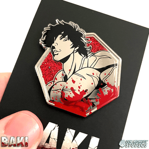 Baki Hanma - Baki The Grappler Collectible Pin