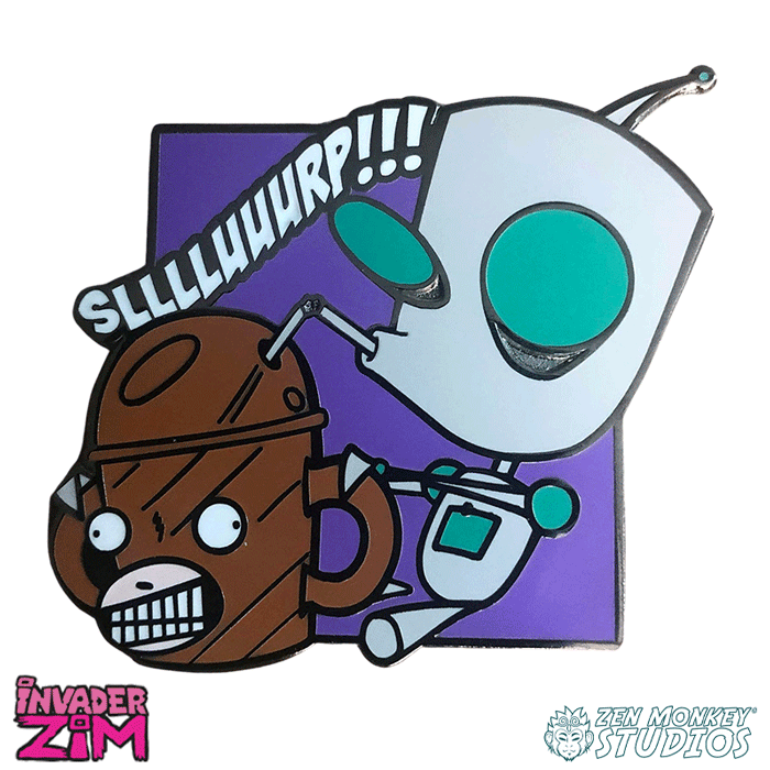 SLURP! - Invader Zim Pin