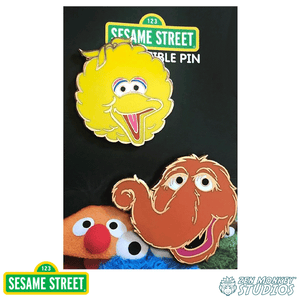 Big Bird and Snuffy 2 Pin Set -  Sesame Street Pin