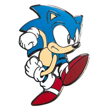 Load image into Gallery viewer, Speedy Sonic: Classic Sonic The Hedgehog Collectible Pin
