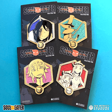 Load image into Gallery viewer, Golden Soul Eater Pins - Wave 2 Bundle