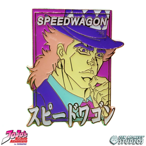 Pastel Speedwagon - JoJo's Bizarre Adventure Pin