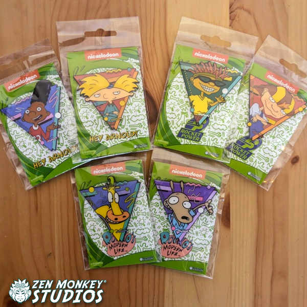 Stay At Home Sale:  Wave One - 90s Nicktoons Pins (10 Available)