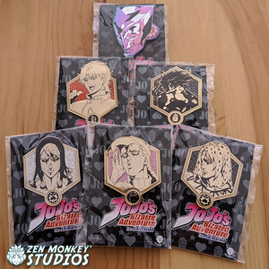 Stay At Home Sale:  Jojo's Bizarre Adventure - Golden Villains:  (15 Available)