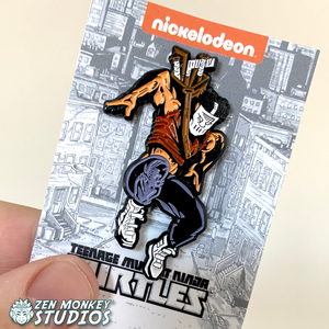 Stay Safe Sale: Classic Comic TMNT Allies & Enemies Pin Set