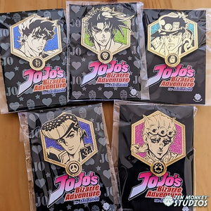 Stay Safe Sale:  Jojo's Bizarre Adventure - Golden JoJos:  (20 Available)