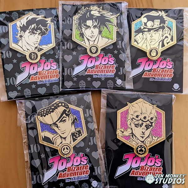 Stay Safe Sale:  Jojo's Bizarre Adventure - Golden JoJos:  (6 Available)